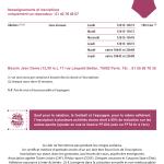 inter-activités paris centre sport : AQUAGYM Tracts rentrée 2015