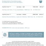 inter-activités paris centre sport : BADMINTON Tracts rentrée 2015