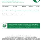 inter-activités paris centre sport : FOOTBALL Tracts rentrée 2015
