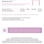 inter-activités paris centre sport : JUJITSU Tracts rentrée 2015