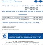 inter-activités paris centre sport : NATATION Tracts rentrée 2015