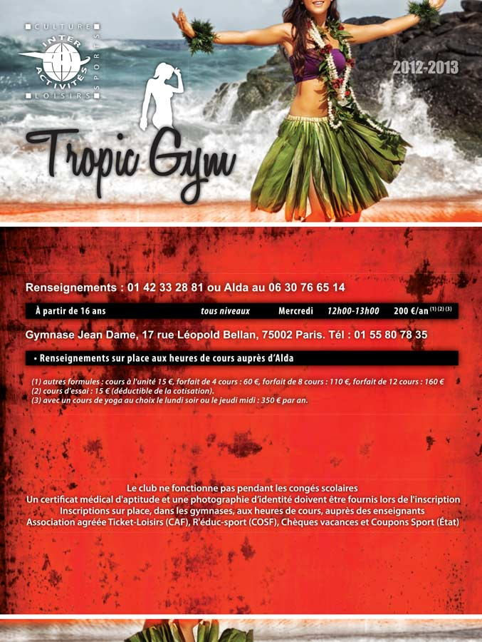 Tropic-Gym RECTO 2012