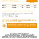 inter-activités paris centre sport : YOGA Tracts rentrée 2015